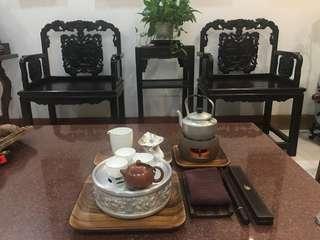 四十年代中茶具一套