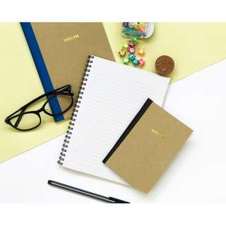 [SAVE 15%] Kraft Notebook Bundle