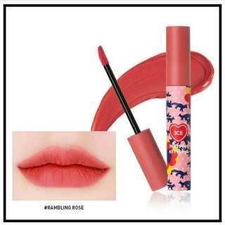3ce Maison Kitsune Velvet Lip Tint #RamblingRose