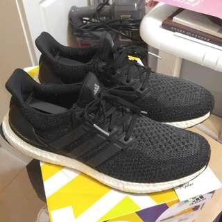 Adidas Ultra Boost 2.0 ub core black yeezy