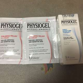 Physiogel moisturiser A.I Cream & Dermo-cleanser