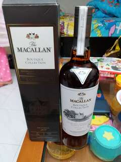 Macallan 2016原酒57%威士忌700ml with box.