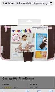 Munchkin designer diaper change bag