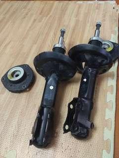 2000-2001年Polo福斯6n2避震器