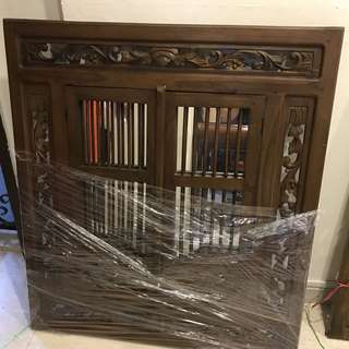 Balinese Teakwood Window