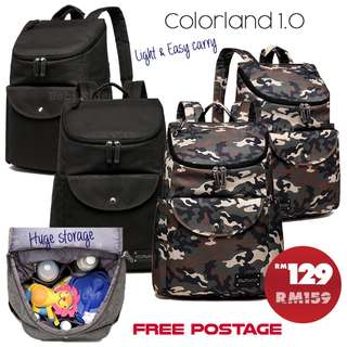 Colorland UK Daddy Backpack - 1.0