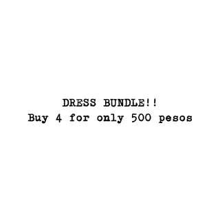 DRESS BUNDLE! :)
