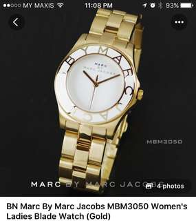 Marc Jacobs Watch MBM3050