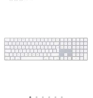 Magic Keyboard with Numeric Keypad - British English - Silver
