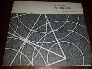 Music CD: Biosphere–Wireless - Live At The Arnolfini, Bristol - Ambient, Field Recording