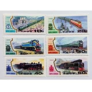 朝鮮火車與橋樑