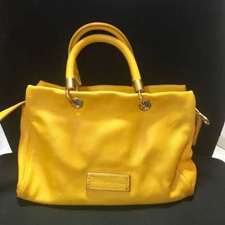 Marc By Marc Jacobs Handbag Yellow Jacket