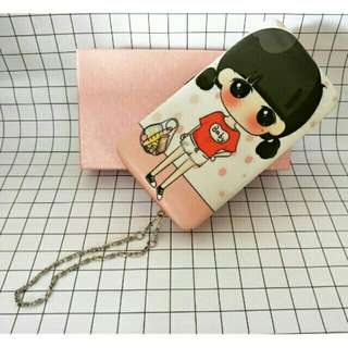 Korean Style Women Fashionable Wallet Lovely Large Capacity