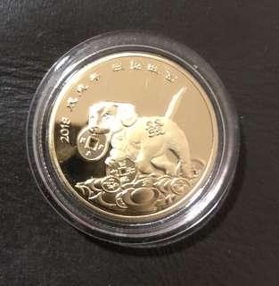 Coin diameter 3cm thick 0.5cm