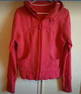 Pink lululemon sweater size medium