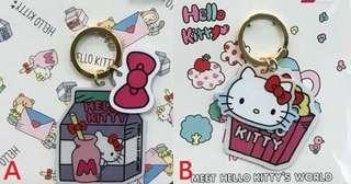 🚚 Hello Kitty World 造型 悠遊卡 牛奶、爆米花 兩款可挑