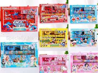 🚦[CHEAPEST] MEGA PARTY GIFT STATIONERY SETS / GOODIE BAG/ STATIONERY BOX SET WITH HANDLE