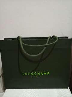paperbag Longchamp ori