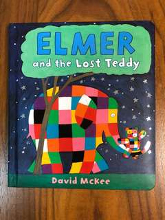 BN Elmer and the Lost Teddy Board Book