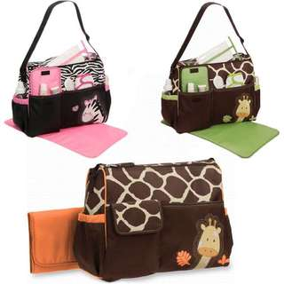 Multi Function Baby Pad Diaper Changing Mother Bag