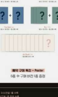 Wanna one undivided artbook ver loose