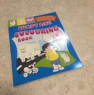 BN Bumpy Line Colouring Book