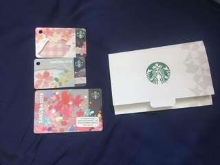 2018 Starbucks Card  星巴克卡 櫻花卡