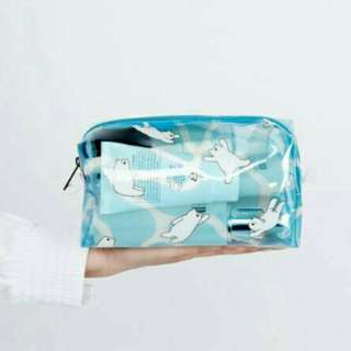 【正版】KIITOS 海物語系列化妝雜物防水包