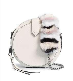 Rebecca Minkoff Mini Canteen Bag with Multi Fur Strap