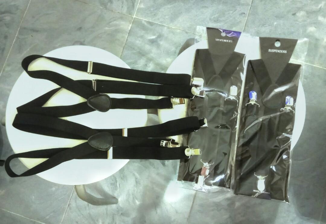黑色背帶 (已售出一條新)