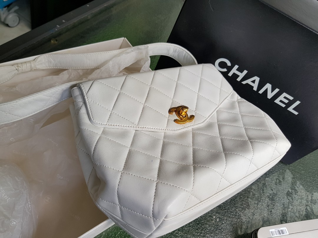 57bf6bedd28dcb 😱 Price reduced to clear. Original CHANEL bag with auth cert ...