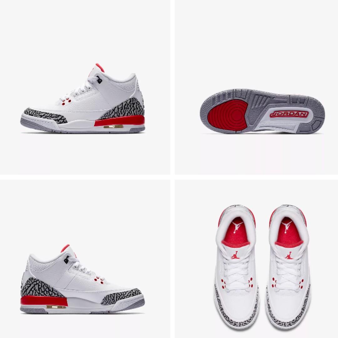ff4fba0306d5c4 Air Jordan 3 Retro Sports Shoe Outing Fashion Baller Worn Once ...