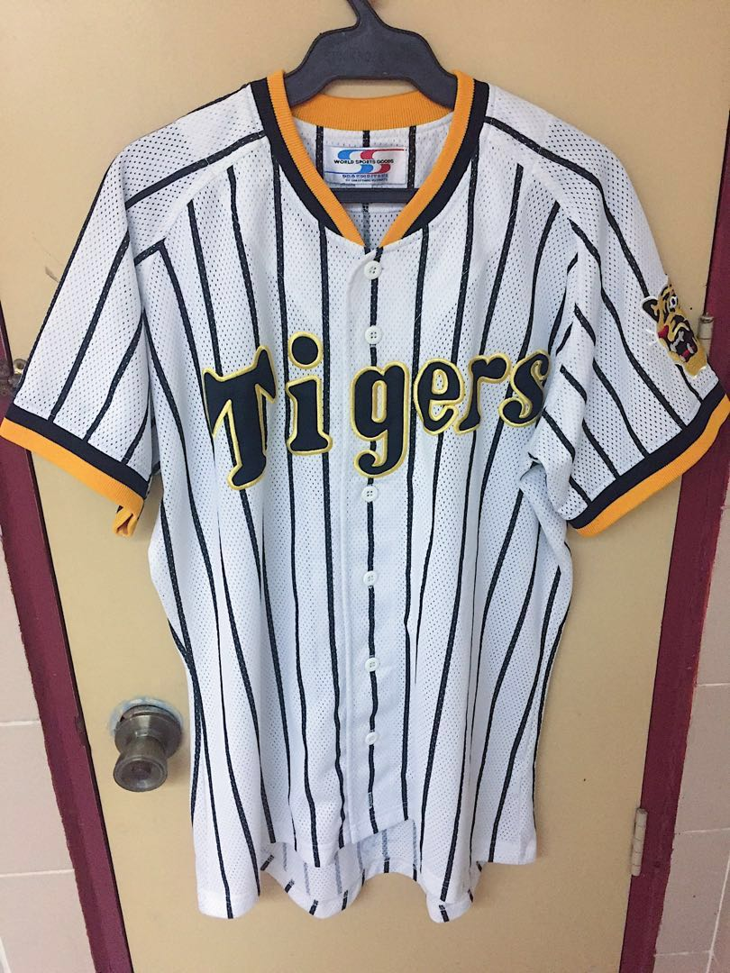 Authentic Tigers Baseball Jersey White Size Large 24dc74ed5