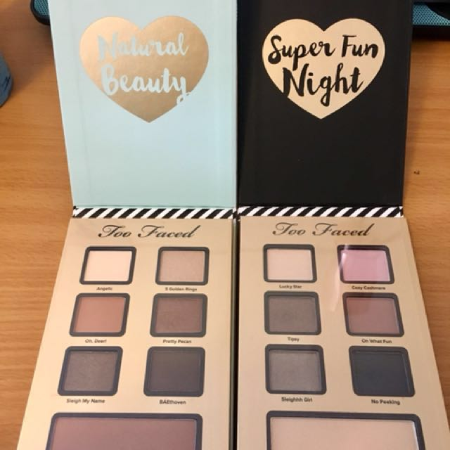 Authentic Too Faced Palette