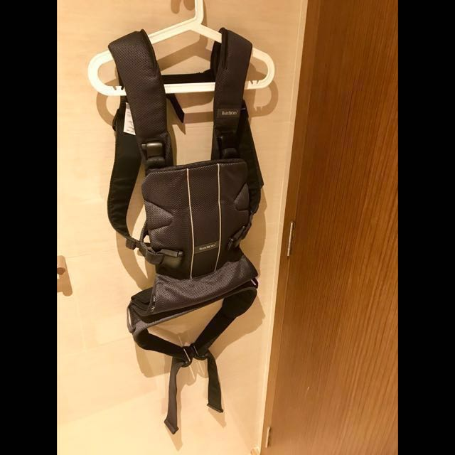 5dbd1608bbe BabyBjorn Baby Carrier One Air - Anthracite Mesh