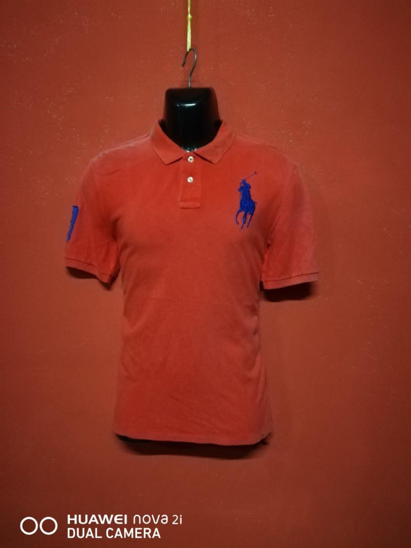 bf932d50 POLO RALPH LAUREN big pony baju kolar t shirt, Men's Fashion ...