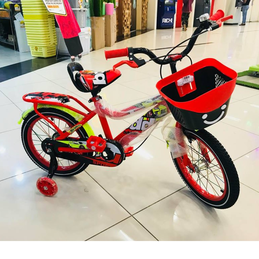 BDQ Children 16 inch Air Tyre Children Bicycle Basikal