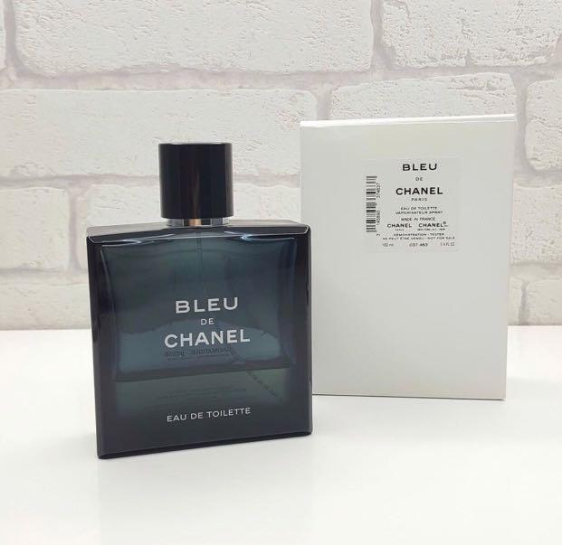 Bleu De Chanel Original Tester Box Health Beauty Perfumes