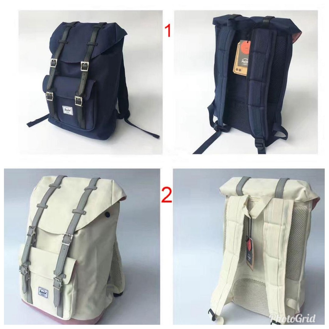 b1d17226665 BN) PO Herschel Little America Backpack (25L   14.5L) 18 DIFFERENT ...