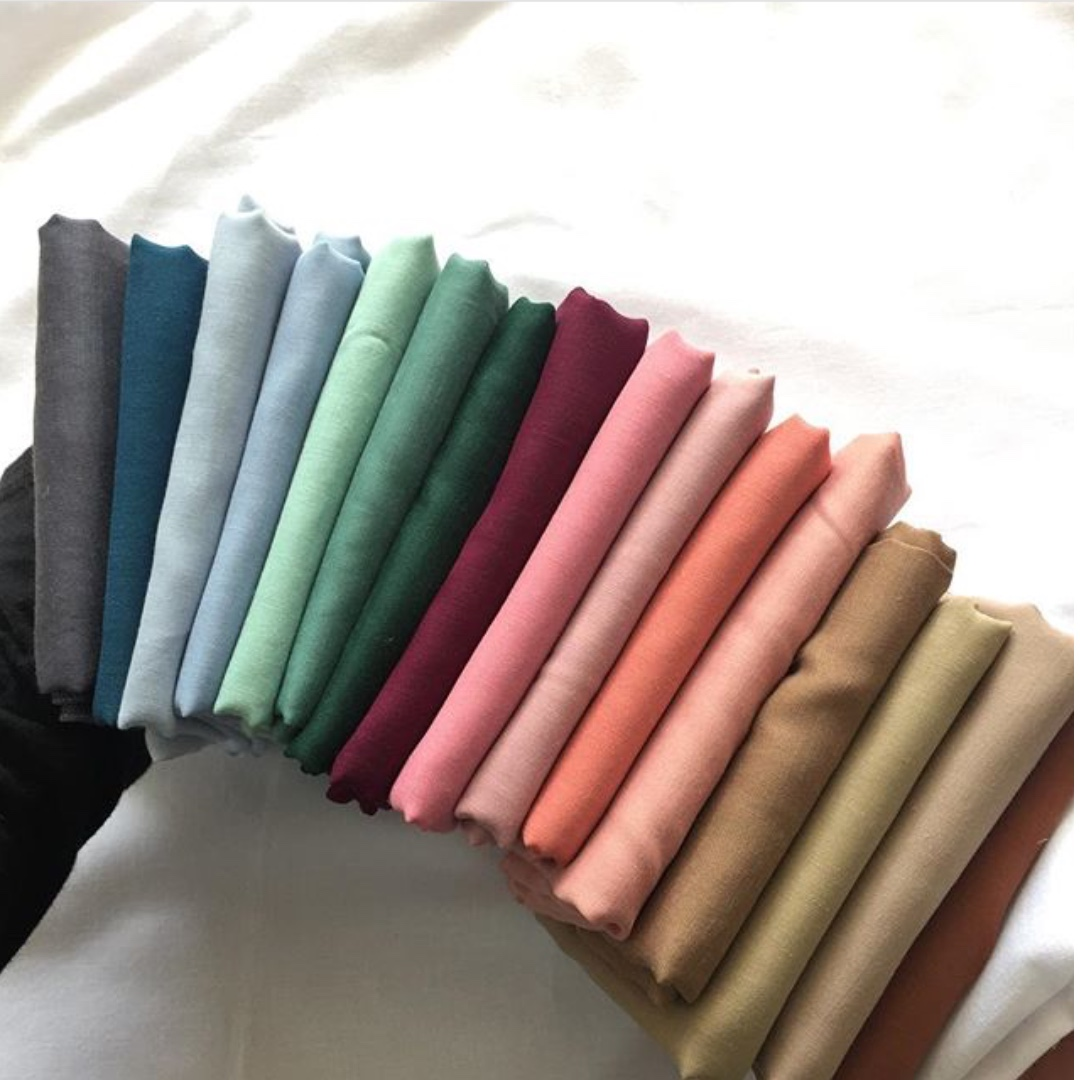 Borong Bawal Premium Cotton Voile 20pcs Muslimah Fashion Scarves On Carousell