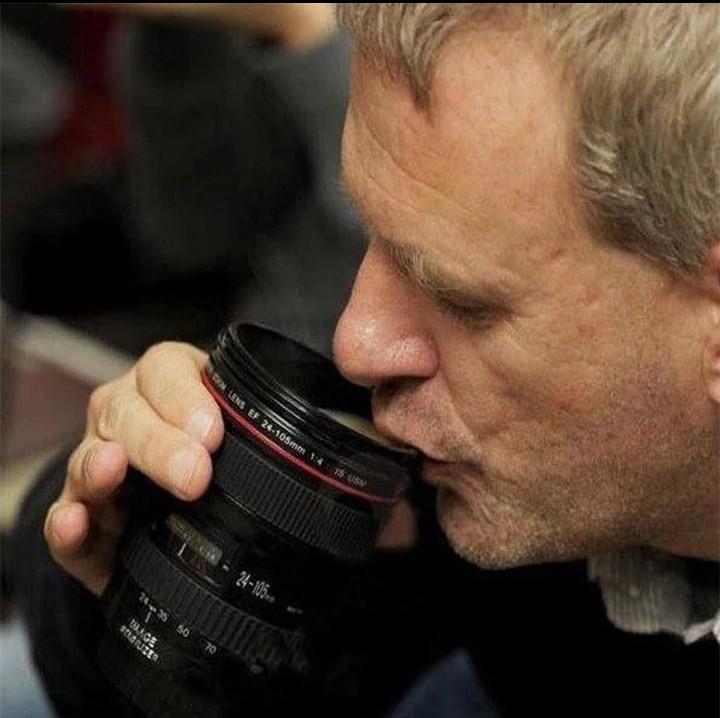 079d4b2b7c7 Caniam SLR Camera Lens 24-105mm 1:1 Scale Plastic Coffee Tea MUG ...