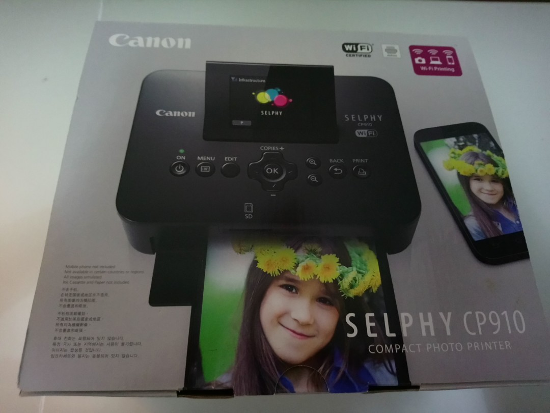 Canon Selphy Cp910 Compact Photo Printer Electronics Others On