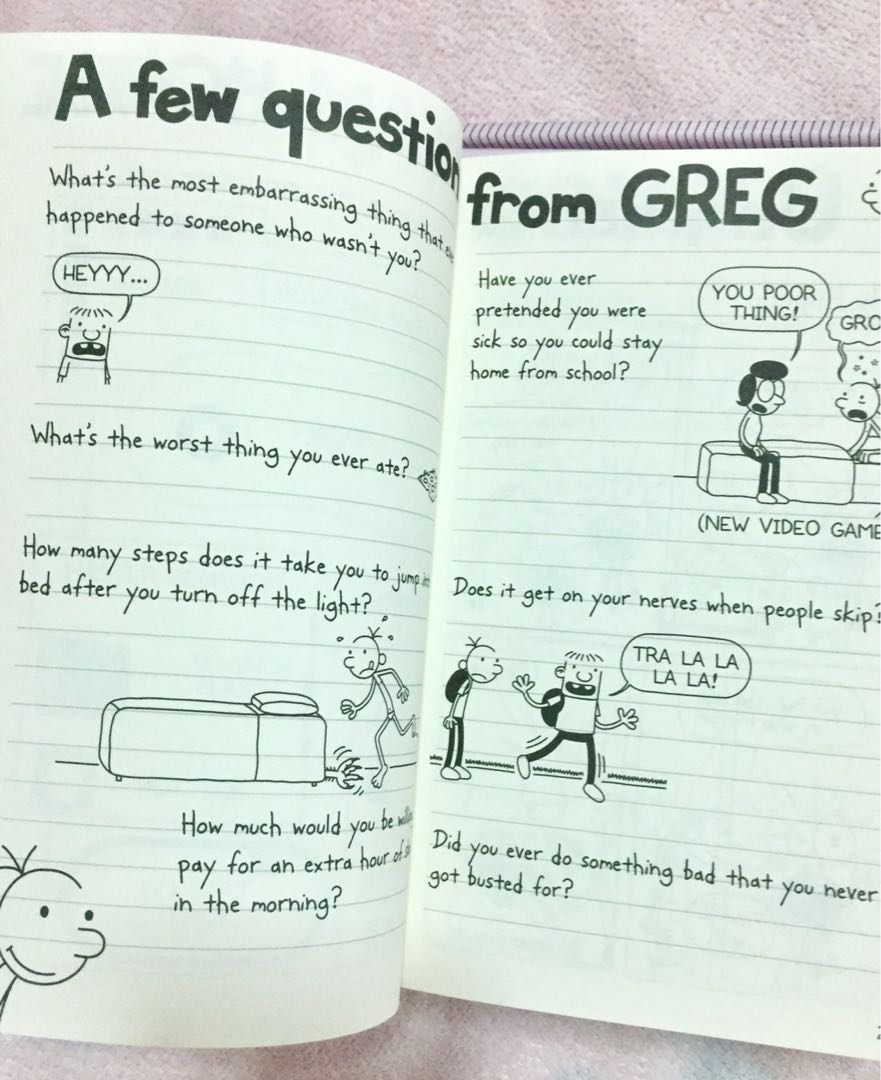 Diary of a wimpy kid do it yourself book jeff kinney books books diary of a wimpy kid do it yourself book jeff kinney books books on carousell solutioingenieria Choice Image
