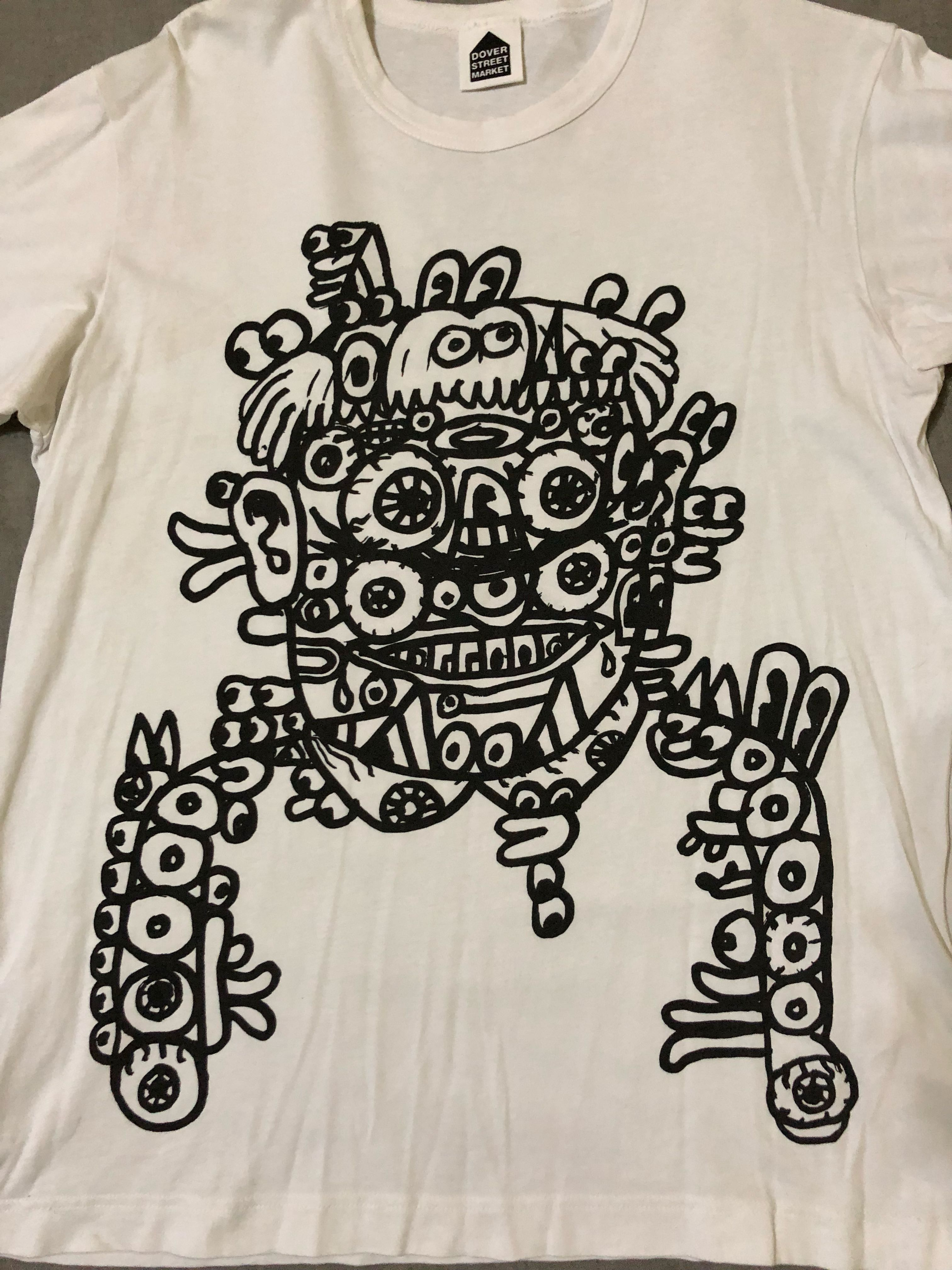6011e5c31 Dover Street Market Noah Lyons Weirdos T-Shirt (white), Men's Fashion,  Clothes, Tops on Carousell