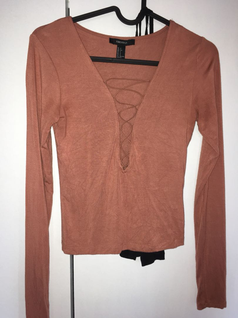 Forever 21 Small Long Sleeve