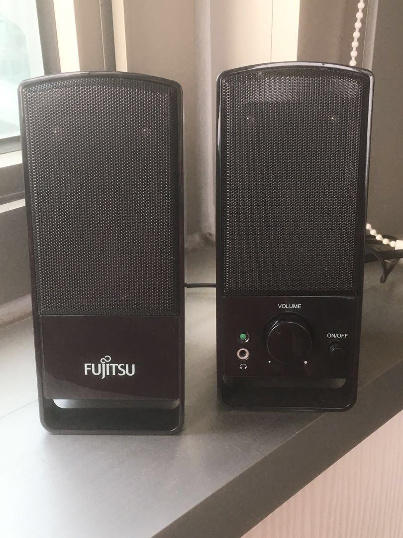 Fujitsu speaker 電腦喇叭/ 擴音器