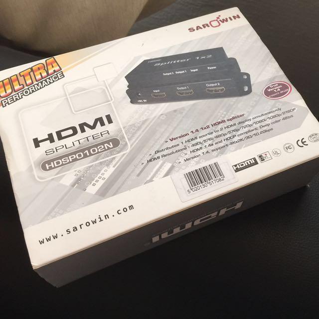 HDMI Splitter HDSP0102N [Reduced Price]