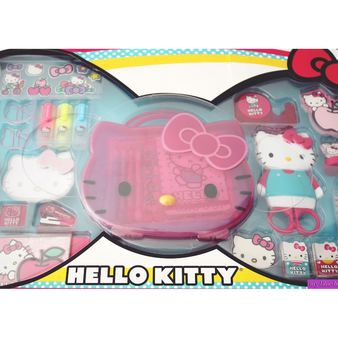 40 Sheets 2 Hello Kitty Heart Shape Note Pad