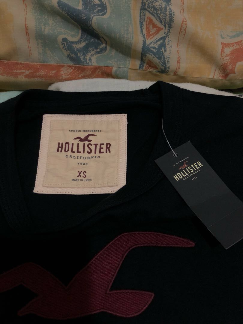Hollister Graphic Tee Black