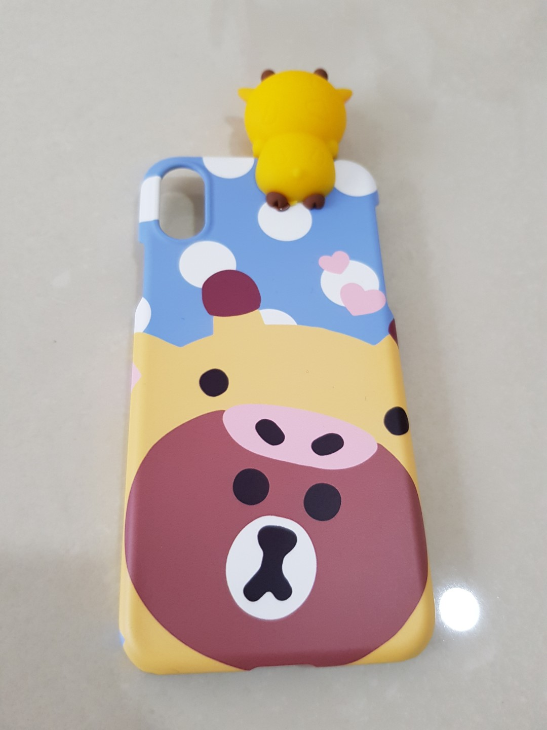brand new 6821d 1eed6 IPhone X case - Line Friends Brown Bear